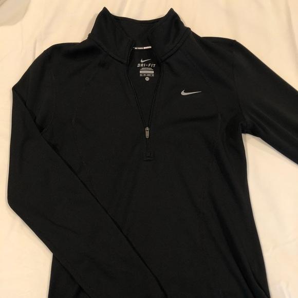 Nike Just Do It long sleeve half zip jacket
